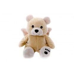 Habibi Plush Guardian Angel Bear