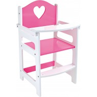 Doll's Highchair, pink