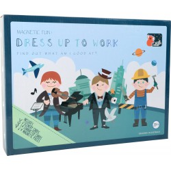 Professions Magnetic Puzzle