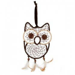 OWL DREAM CATCHER HANGING DECORATION