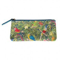 PARROT PARADISE SLIM PENCIL CASE