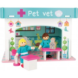 Playhouse Animal Hospital with Accessories