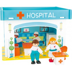 Playhouse Hospital with Accessories