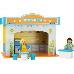 Playhouse Restaurant with Accessories