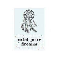 Sparkling Paper postkaart catch your dreams