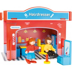 Playhouse Hair Salon with Accessories