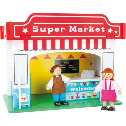 Playhouse Supermarket with Accessories