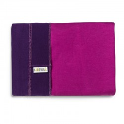 Stretchy Wrap Duo Line - Purple-Fuchsia