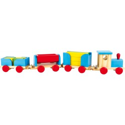 "Wooden Train ""Toy Blocks"""