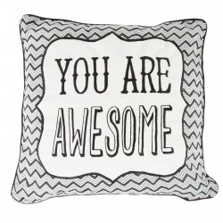 You Are Awesome Retro Cushion
